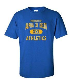 Alpha Xi Delta Athletics T-Shirts