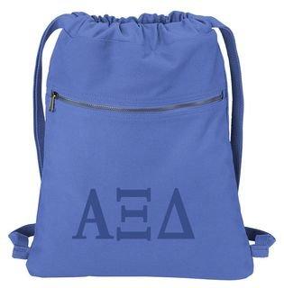 Alpha Xi Delta Beach Wash Cinch Pack