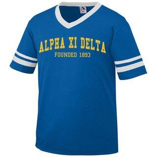 Alpha Xi Delta Boyfriend Style Founders Jersey