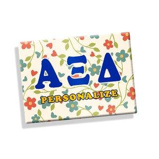 Alpha Xi Delta Ceramic Magnet