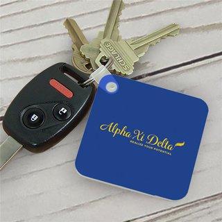 Alpha Xi Delta Mascot Key Chain