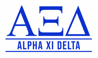 Alpha Xi Delta Custom Sticker - Personalized