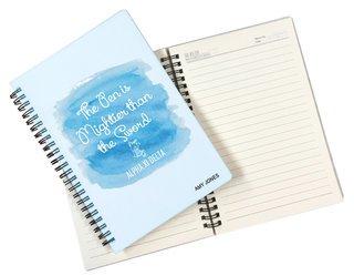 Alpha Xi Delta Custom Watercolor Notebooks