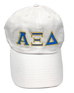 Alpha Xi Delta Double Greek Letter Cap