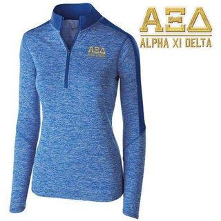 Alpha Xi Delta Electrify 1/2 Zip Pullover