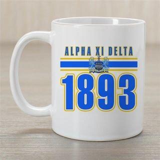 Alpha Xi Delta Established Year Coffee Mug - Personalized!