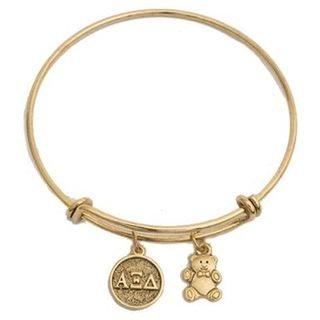 Alpha Xi Delta Expandable Bracelet