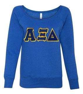 Alpha Xi Delta Fleece Wideneck Sweatshirt