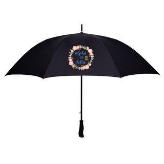 Alpha Xi Delta Floral Umbrella