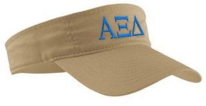 Alpha Xi Delta Greek Letter Visor