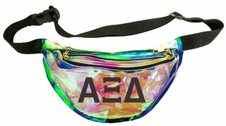 Alpha Xi Delta Holographic Fanny Pack