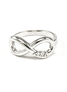 Alpha Xi Delta Infinity Ring