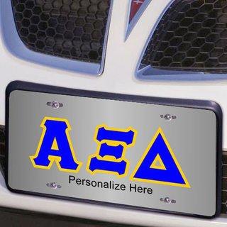 Alpha Xi Delta Lettered License Cover