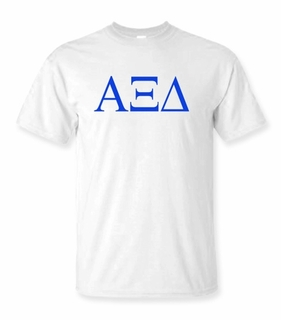 Alpha Xi Delta Lettered Tee - $9.95! - MADE FAST!