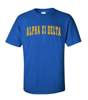 Alpha Xi Delta Letterman T-Shirts