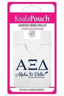 Alpha Xi Delta Logo Koala Pouch