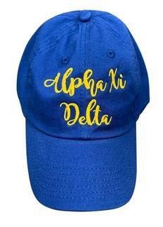 Alpha Xi Delta Magnolia Skies Ball Cap