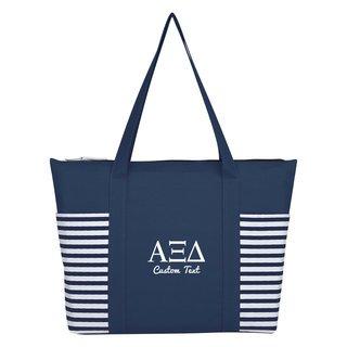 Alpha Xi Delta Maritime Tote Bag