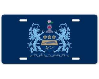 Alpha Xi Delta Crest - Shield License Plate