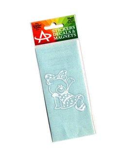 Alpha Xi Delta Mascot Sticker