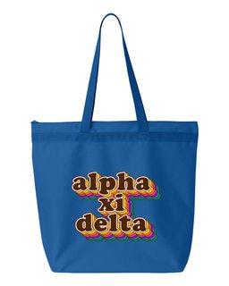 Alpha Xi Delta Maya Tote Bag