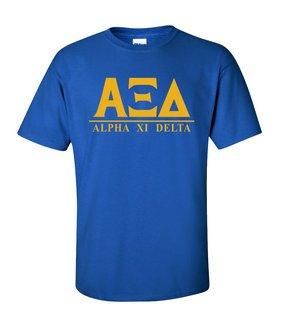 Alpha Xi Delta Message T-Shirts