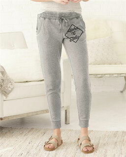 Alpha Xi Delta Enzyme-Washed Rally Joggers