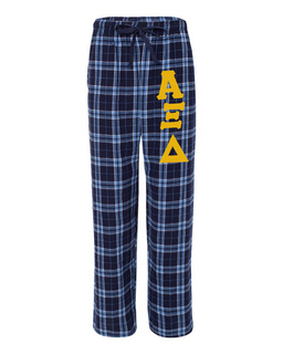 Alpha Xi Delta Pajamas -  Flannel Plaid Pant