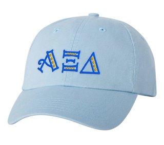 Alpha Xi Delta Peppermint Polkadots Sorority Line Hat