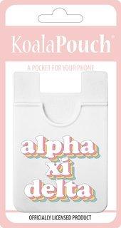 Alpha Xi Delta Retro Koala Pouch