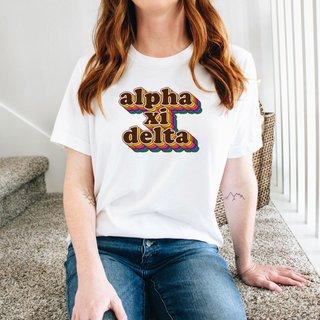 Alpha Xi Delta Retro Maya Tee