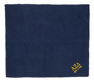 Alpha Xi Delta Sherpa Blanket