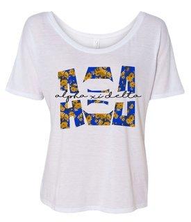 Alpha Xi Delta Slouchy T-Shirt