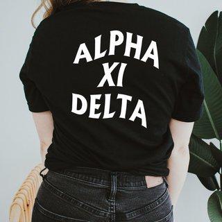 Alpha Xi Delta Social Tee