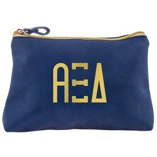 Alpha Xi Delta Sorority Cosmetic Bag