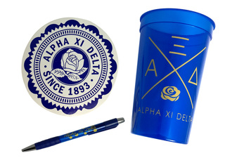 Alpha Xi Delta Sorority For Starters Collection $8.95