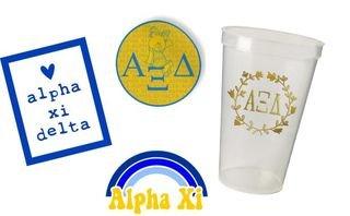 Alpha Xi Delta Sorority Large Pack $15.00