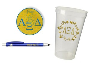 Alpha Xi Delta Sorority Medium Pack $7.50