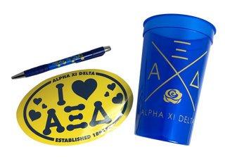 Alpha Xi Delta Sorority Medium Pack $7.50