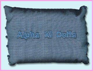 Alpha Xi Delta Sorority Sachet