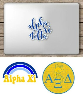 Alpha Xi Delta Sorority Sticker Collection - SAVE!