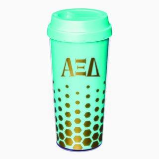 Alpha Xi Delta Sparkle Coffee Tumblers