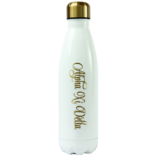 Alpha Xi Delta Stainless Steel Shimmer Water Bottles