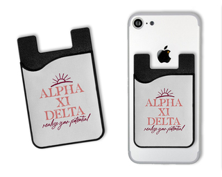 Alpha Xi Delta Sun Card Caddy