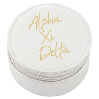Alpha Xi Delta Travel Round Case