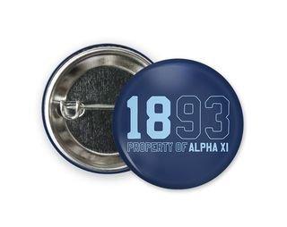 Alpha Xi Delta Year Button