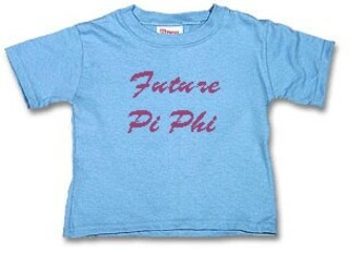 Fraternity & Sorority Gifts For Baby & Kids
