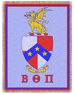 Beta Theta Pi Blanket Throw