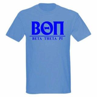 Beta Theta Pi bar tee
