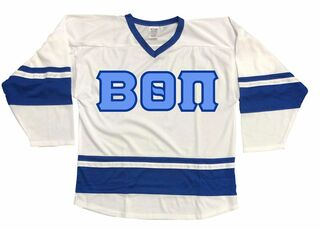 DISCOUNT-Beta Theta Pi Breakaway Lettered Hockey Jersey
